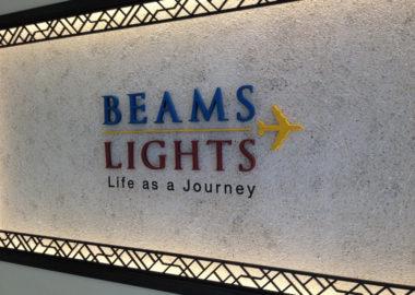 BEAMS(ビームス)看板